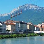 Grenoble, ville et jardin botanique