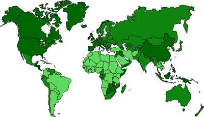 Geographie des données