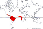 Carte de repartition des Humiriaceae