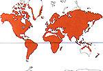 Carte de repartition des Plumbaginaceae